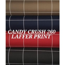 Candy Crush Laffer Print Fabric