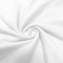 Plain Cotton Fabric, Plain/Solids, White