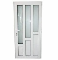 Powder Coated Aluminium Door, For Office,Home, Thickness: 12 Mm