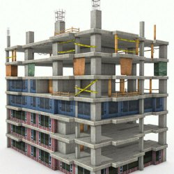 Commercial Buildings Construction Service, in Pan India