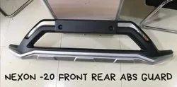 Silver Nexon 20 Abs Front & Rear Guard, For Car