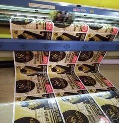 Vinyl Sticker Printing Service