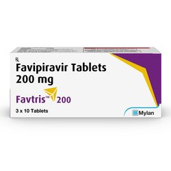FAVTRIS FAVIPIRAVIR 200 MG TABLETS.