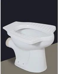 solsto White Anglo Indian Toilet Seat, For Bathroom Fitting