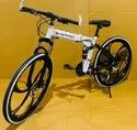 White Being Human Foldable Cycle