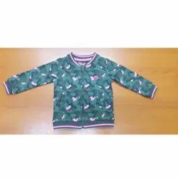 2-16 Yrs Printed Fancy Kids Jacket, Full Sleeves