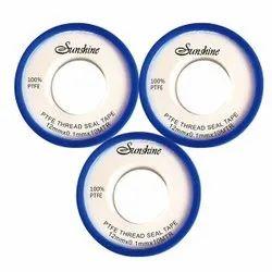 Brand: Sunshine White PTFE Thread Seal Tape - Teflon Tape - 12Mm - 10 Meter