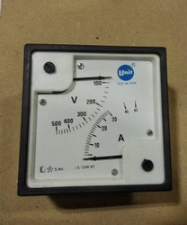 Double Display Volt And Ampere Meter