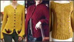 Various Varieties Woolen Ladies Wear