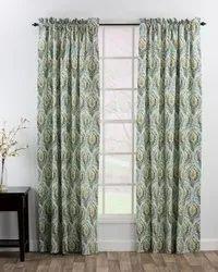 Printed Galaxy home decor curtain