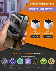 crear Wired Home Automation Touch Switches Combo