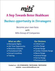 PCD Pharma Franchise In Davangere