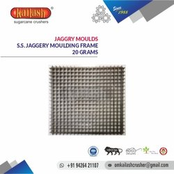 Stainless Steel Jaggery Moulds 20 Grams
