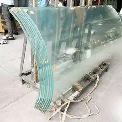 Transparent Curved Bent Glass