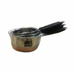 Kalash Stainless Steel Pan, For Home, Hotels