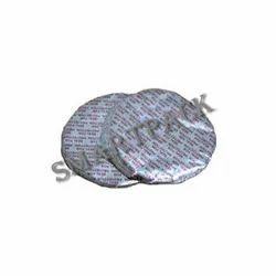 Smart Pack Silver Aluminium Foil for HDPE Jar 40mm, Thickness: 25-40 Microne