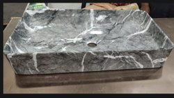 ZAFOZON Rectangular Table Top Wash Basin, For Bathroom, Model Name/Number: B4