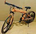 Orange Being Human Foldable Cycle