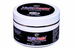 Mattrohuda Activated Charcoal Scrub For Face, For Personal, Packaging Size: 250gm