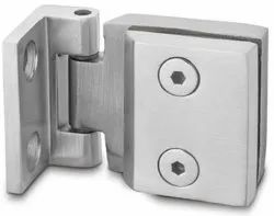Rustproof Wall To Glass Door Hinge Without Spring Action For 6mm & 8mm AGH-02