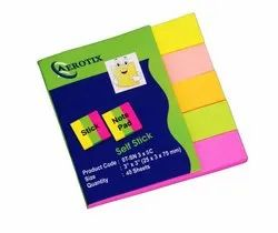 5 Color Stick Notepad