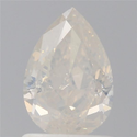Pear 1.19 CT I2 Fancy White GIA Certified Natural Diamond