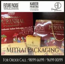 Custom Printed Mithai Packaging Boxes, For Food, Weight Holding Capacity (kg): <5 Kg
