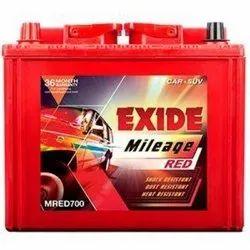 Capacity: 65 Ah Price After Old Battery Exchange (Same Ah): 6700 Car Batteries, Model Name/Number: Exide Ezzy 700