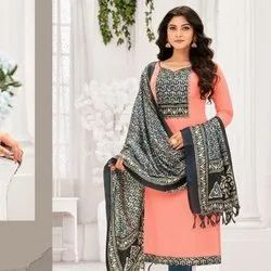 Stylish Sluby Cotton Fancy Salwar Suit