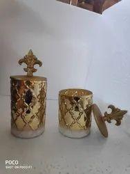 Decorative Cylinder Jar