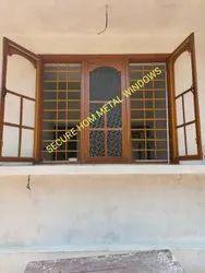 Modern Brown Metal Window, For Home