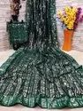 PRESENT HEAVY GEOGGET WITH FULL SEQUENCE SAREE