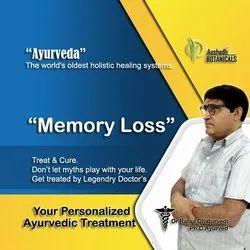 Ayurvedic Treatment For Memory Loss