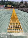 FRP Solar Walkways Grating 38 x 75Mm