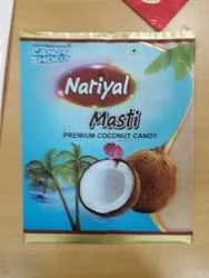 Heat Seal Gravure Printing Confectionery Laminated Pouches Matt And Glossy