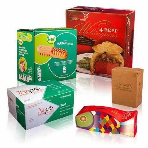 Printed Mono Carton Packaging Box \'\'Make in INDIA\'\'