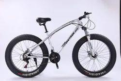 Fire Trek Silver Jaguar Fat Tyre Cycle