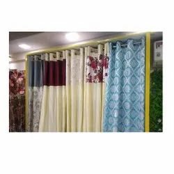 Polyester Printed Decorative Curtain, For Window, Size: Up To 6 Feet