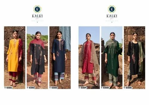 Kalki Inayat Premium Festive Wear Kurti Collection