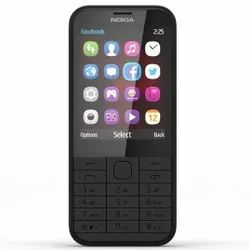 S30+ Nokia 225 4 G Black Dual Sim Mobile, Screen Size: 2.4 Inch