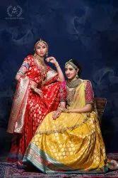 Bridal Wear Embroidery Sangeet Lehenga With Hand Work Zardozi