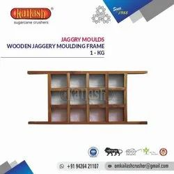 Om Kailash Wooden Jaggery Moulds 1 Kgs
