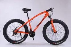 Fire Trek Orange Jaguar Fat Tyre Cycle