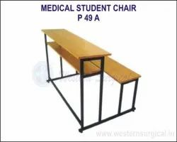 yellow Wooden Medical Student Chair