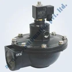 2/2 Way Angle Type Dust Collector Double Diaphragm Pulse Valve