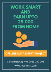 22 Days Outsourcing Company Data Entry Projects Offline, Company Manpower: 20-50