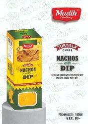 Cheese Dip With Nachos, Packaging Size: 100 Gm