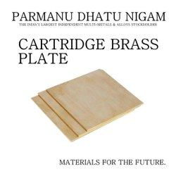 Cartridge Brass Plate