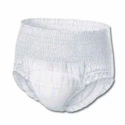 White Disposable Adult Pull UP Diaper