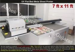 UV Flatbed Metal Printing